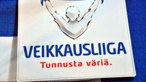 Veikkausliigan logo.