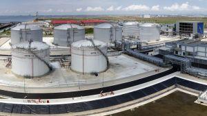 Neste Oilin Singaporen tuotantolaitos