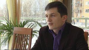 Uusi Karjala -järjestön johtaja Aleksandr Kalkko