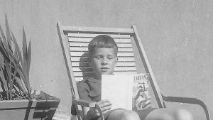 Peter von Bagh Oulussa kesällä -51