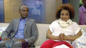 Abdi Osman ja Amina Mohamed.