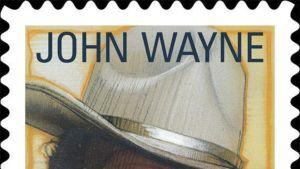 Postimerkki John Waynesta.