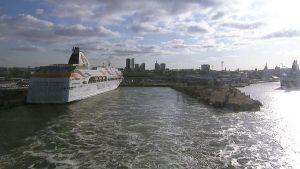 Tallinnan satama.
