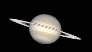 Saturnus planeetta.