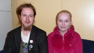 Jussi Öman ja Linda Venetkoski