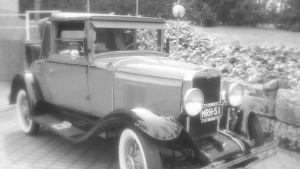 Chevrolet Sport Cabriolet vuodelta 1929, omistaja Antti Arvo, Hämeenlinna