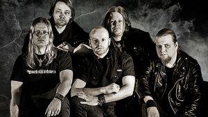 SoulHealer yhtyeessä ovat Teemu Kuosmanen (alh vas) Jori Kärki Pasi Laakkonen Jani Nyman (ylh vas) ja Sami Mikkonen.