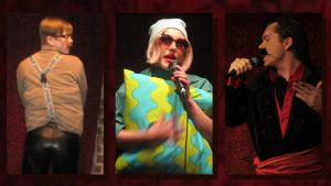 Tero Hintikka (Juha Tuominen), Pirjo Perttoinen (Inkeri Raittila) sekä Alejandro Amador Orgías de la Sanchez (Janne Pikka) ovat kisanneet Turun Höpönassun tittelistä.