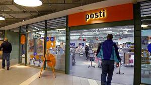 Lappeenrannan keskustan posti.