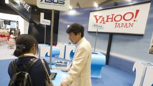Yahoo! Japan messuosasto.