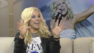 Krista Siegfrids Aamu-tv:n vieraana 21.5.2013.