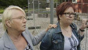 Mirja Holm ja Mirja Räihä.