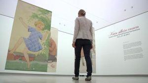 Kuin silloin ennen -näyttely Hämeenlinnan Taidemuseossa