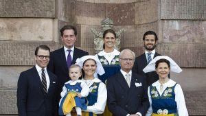 Ruotsin kuningasperhe