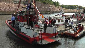 Turun meripelastusyhdistyksen uusi meripelastusvene
