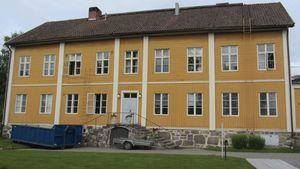 Rosenlundin pappila Pietarsaaressa.