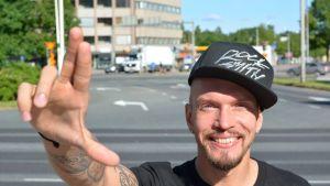 Kari Härkönen eli Brädi.