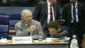 EU-maiden valtionvarainmisiterit kokoontuivat Brysselissä 20. kesäkuuta.