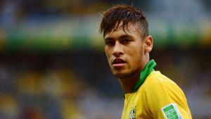 Brasilian tähtipelaaja Neymar.