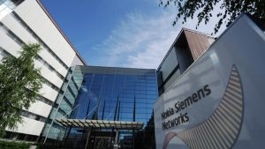 Nokia Siemens Networksin pääkonttori Espoossa 1. heinäkuuta 2013.