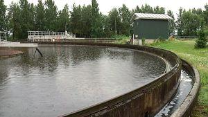 Toikansuon jätevedenpuhdistamo.