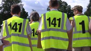 Maataloustuottajat ilmaisivat tukensa Suomen 141-tukineuvotteluille Seinäjoella Farmarissa.