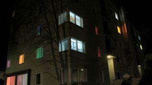 heikinlinnan valoteos syksyllä 2012