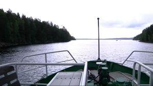 laivan keula ja Päijänne