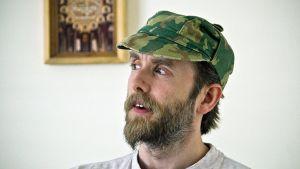 Varg Vikernes Norjassa viimeisenä vankilavuonnaan 2009.