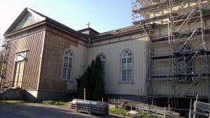 Suodenniemen kirkko remontissa