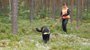 Kepu ja Maarit Rokkamäki työssään.