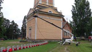 Kivijärven kirkon kellotapuli