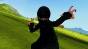 Pakistanilainen supersankari Burka Avenger.