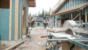 Holiday Club rakentaa Sallatunturilla taloja