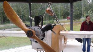 Kasper Wreden käyttämän lentokoneen näköismalli