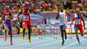 Trinidadin Gordon venyi MM-kisoissa mestariksi 400 metrin aidoissa.