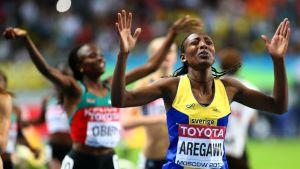 Abeba Aregawi toi Ruotsille maan ensimmäisen mitalin sitten Osakan MM-kisojen vuonna 2009