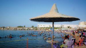 Hurghadan rantaa kesäkuussa 2010.