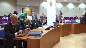 Paritusoikeudenkäynti Tampereen oikeustalolla