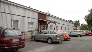Lemin kunnanviraston parakkirakennus