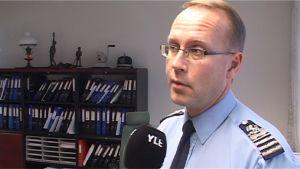 Poliisipäällikkö Timo Vuola.