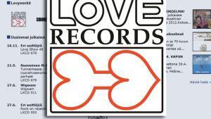 Love Recordsin logo