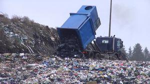 Mustankorkean kaatopaikka.
