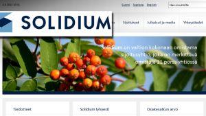 Solidiumin logo