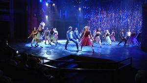West Side Storyn harjoittelua.