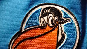 Pelicansin logo.