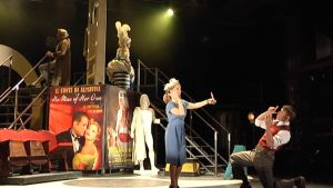 Oopperaa Figaron häät harjoitellaan elokuvakulisseissa.