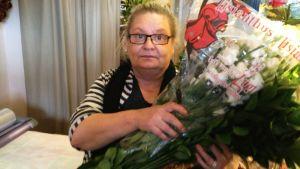 kukkakauppias Kirsi Räsänen
