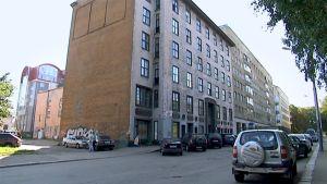 Entinen Viipurin tuomioseurakunnan talo.
