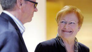 Presidentti Tarja Halonen Helsingissä 25. syyskuuta 2013.